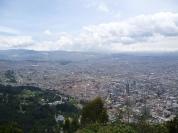 Ciudad de Bogotá desde el Montserrat